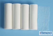 conforming absorbent cotton gauze bandage