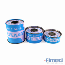 Zinc Oxide Plaster Tape with Metal Cover